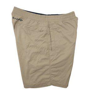 Birddogs Golf Gym Shorts Khaki Liner Running Short